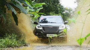 哈弗越野性能最强SUV 新H9舒适性提升
