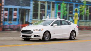 福特蒙迪欧 自主驾驶安全性能测试