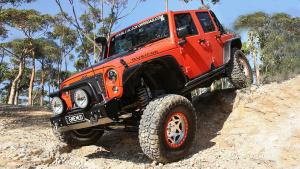 Jeep牧马人越野利器 不惧陡坡暴力攀爬