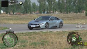 宝马i8标准型赛道操控实测 3种驾驶模式
