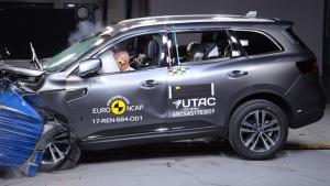 E-NCAP碰撞测试 雷诺科雷傲获五星安全