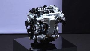 马自达Skyactiv-X引擎展示 省油新技术