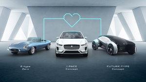 捷豹路虎科技节 发布多款逆天概念车