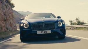 全新宾利欧陆GT动态展示 极速333km/h