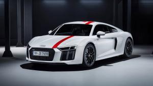 奥迪全新R8 V10 RWS性能强劲 限量999台
