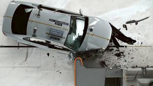 2017款大众捷达乘客侧 小重叠IIHS碰撞