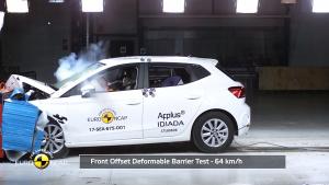 E-NCAP碰撞测试 2017款西雅特Arona