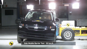 E-NCAP碰撞测试 斯柯达KAROQ获五星