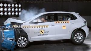 E-NCAP碰撞测试 大众POLO获五星安全