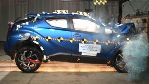 2018款丰田C-HR NHTSA正面碰撞测试