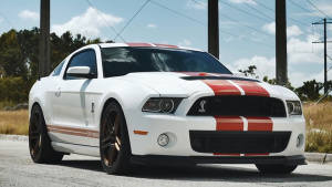 福特野马Shelby GT500 青铜色轮毂换装