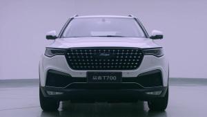 众泰T700中大型SUV 设计师详解设计理念