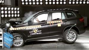 E-NCAP碰撞测试 宝马X3获五星安全