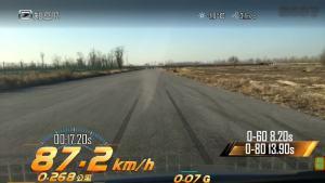 知豆D2S 0-80km/h加速测试