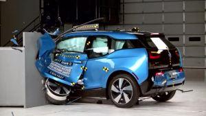 2017款 宝马 i3 美国高速安全保险协会 全面测试