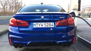 宝马M5 (F90) 0-310 km/h德国高速极速狂飙