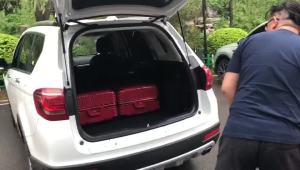哈弗H6行李厢装载能力演示