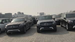 18款奔驰GLS450多款动力可选天津港价格最低