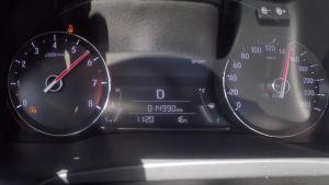 冠道超级评测0-100km/h加速仪表盘
