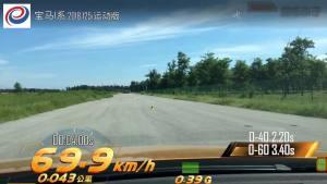宝马125i超级评测加速测试2018