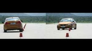 宝马125i超级评测操控稳定性测试