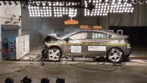 2017款 雪佛兰 Volt 美国NHTSA碰撞机构 全面测试