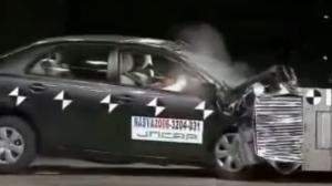2006款 丰田 卡罗拉日本自動車事故対策機構碰撞测试