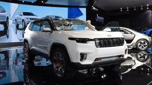 全新大7座SUV还是Jeep牌,带着一家人去越野吗?