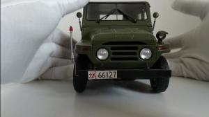 吉普212车模展示