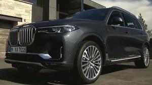 全新2019款宝马X7首次实车亮相,豪华SUV新标杆