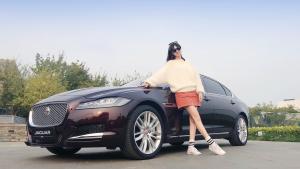 会撩车:小希带你体验英伦运动商务轿车2019款捷豹XF
