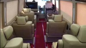 丰田考斯特内饰改装房车商务车改装汽车座椅改装