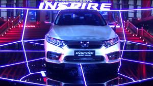 售价18.28-24.98万元 东风Honda全新INSPIRE上市发布
