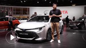 2018巴黎车展抢先体验丰田卡罗拉混动旅行版