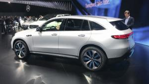2020款奔驰GLE正式全球首发亮相巴黎车展