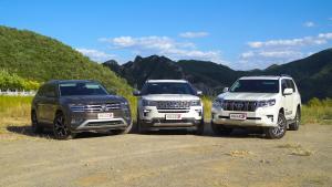 三台中大型SUV性格差异何在?探险者/途昂/普拉多