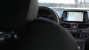 全新现代i30 Fastback N Line内饰展示