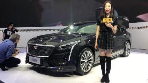 豪华旗舰刚发布,CT6广州车展镇场
