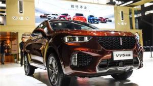 WEY品牌携VV5终结版13.5万 年轻人首选SUV