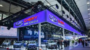 奇瑞携全系产品亮相广州车展,展现品牌新实力