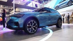 有车Video|电咖ENOVATE首款车型 天际ME7亮相