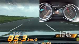 雪佛兰沃兰多超级评测加速测试