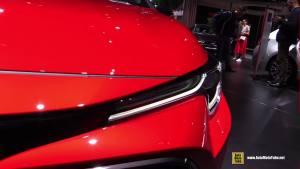 2019款卡罗拉Hatchback Hybrid巴黎车展实拍