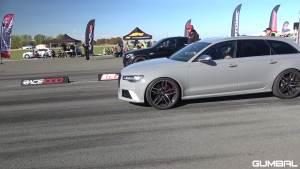 650HP奥迪RS6 Avant C7 vs 奔驰AMG GLC63 S