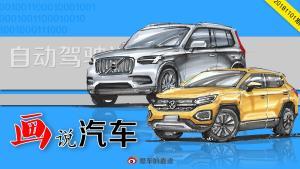 画说汽车—手绘 自动驾驶汽车的征程