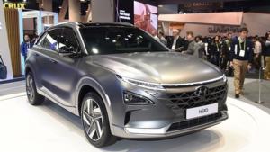 车库之现代氢燃料电池车Nexo
