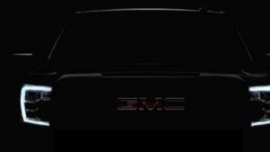 福特F150对手GMC Sierra 预告图发布