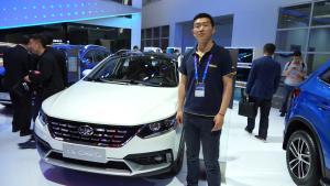 跨界旅行车正当时 骏派CX65北京车展正式亮相
