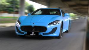 玛莎拉蒂GC全车3M Sky blue
