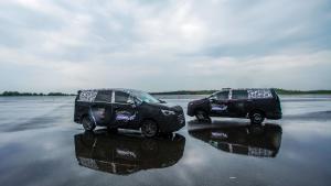 全新中型MPV,大通G50伪装车体验